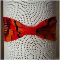 Les Nœuds-Nœuds - Headband à nouer rouge imprimé - Bandeau adulte
