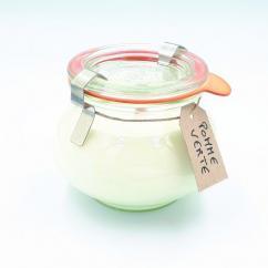 Les Parfums d'Oléron® - Bougie parfumée - Pomme Verte 150 ml - Bougie - Pomme verte