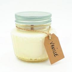 Les Parfums d'Oléron® - Bougie parfumée - Vanille - 250ml - Bougie - Vanille