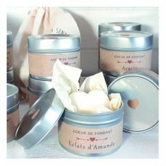 Les Parfums d'Oléron® - Cœur de Fondant Parfumé - Acacia - Fondant (cire)