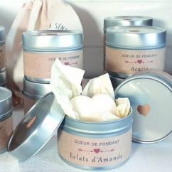 Les Parfums d'Oléron® - Cœur de Fondant Parfumé - Éclats d'Amande - Fondant (cire)