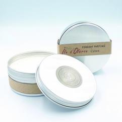 Les Parfums d'Oléron® - Fondant Parfumé - Fleur de Coton - 150ml - Fondant (cire)