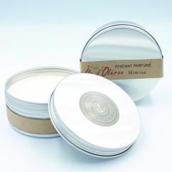 Les Parfums d'Oléron® - Fondant Parfumé - Mimosa - 150ml - Fondant (cire)