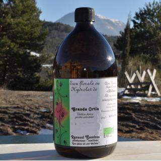 Les Sens de nos Vallées - Eau Florale / Hydrolat - Grande Ortie - 1 L - Hydrolat