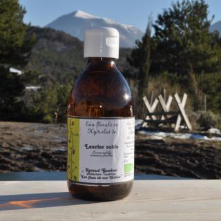 Les Sens de nos Vallées - Eau Florale / Hydrolat - Laurier - 250 ml - Hydrolat