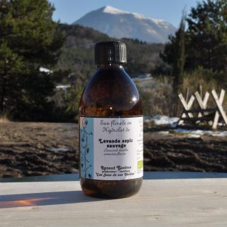 Les Sens de nos Vallées - Eau Florale / Hydrolat - Lavande aspic - 250 ml - Hydrolat
