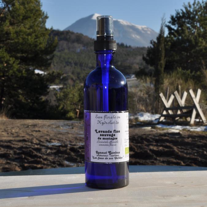Les Sens de nos Vallées - Eau Florale / Hydrolat - Lavande fine - 200 ml - Hydrolat