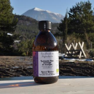 Les Sens de nos Vallées - Eau Florale / Hydrolat - Lavande fine - 250 ml - Hydrolat