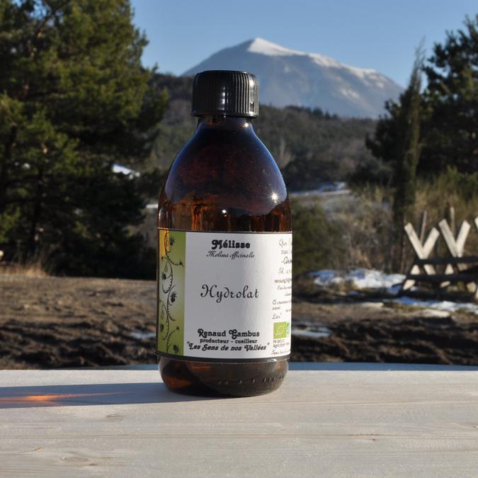 Les Sens de nos Vallées - Eau Florale / Hydrolat - Mélisse - 250 ml - Hydrolat