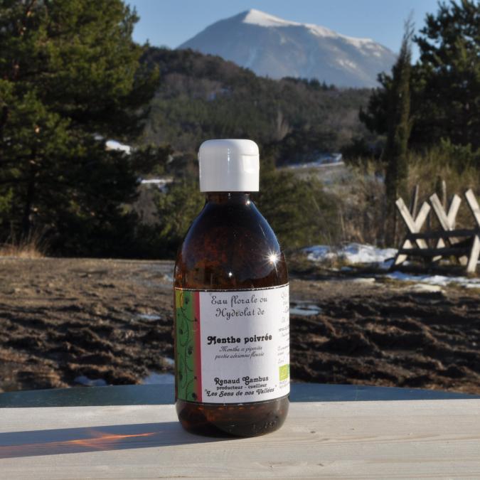 Les Sens de nos Vallées - Eau Florale / Hydrolat - Menthe - 250 ml - Hydrolat