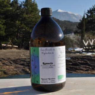 Les Sens de nos Vallées - Eau Florale / Hydrolat - Romarin - 1 L - Hydrolat