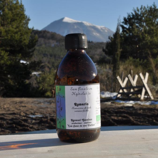 Les Sens de nos Vallées - Eau Florale / Hydrolat - Romarin - 250 ml - Hydrolat