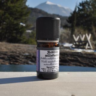 Les Sens de nos Vallées - Huile essentielle - Achillée - 2 ml - Huile essentielle