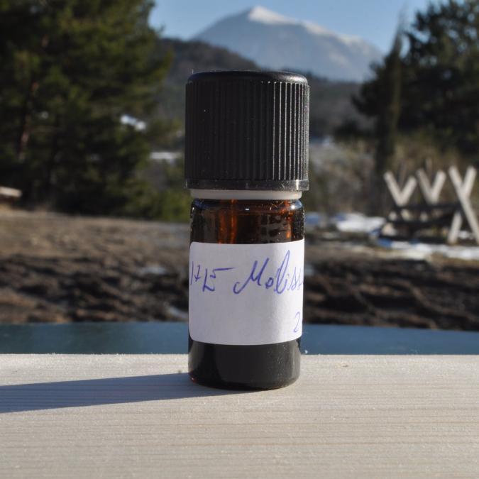 Les Sens de nos Vallées - Huile essentielle -  Mélisse - 2 ml - Huile essentielle
