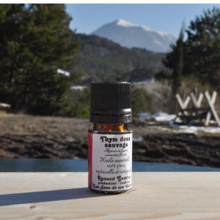 Les Sens de nos Vallées - Huile essentielle - Thym doux - 5 ml - Huile essentielle