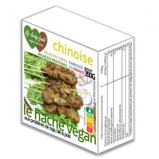 Life Loving Foods Végan Versions - Le haché végan chinoise 160g pour 350g - Haché végétal