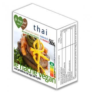 Life Loving Foods Végan Versions - Le haché végan thai 160g pour 350g - Haché végétal