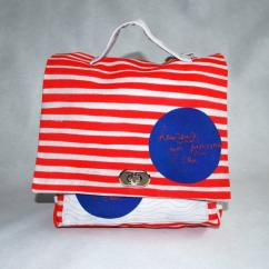 Little Oh! - Cartable rouge-gris - Cartable