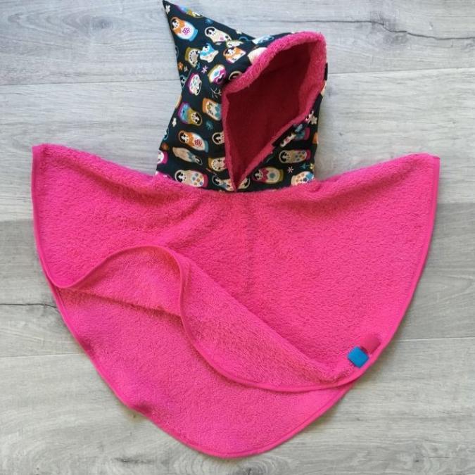 Little Oh! - Poncho de bain (1) – 0-12mois - Cape de bain (enfant)