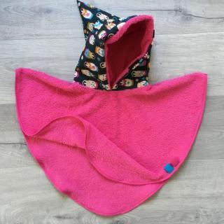 Little Oh! - Poncho de bain (1) – 8ans - Cape de bain (enfant)