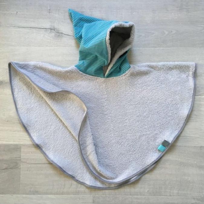 Little Oh! - Poncho de bain (4) – 2ans - Cape de bain (enfant)