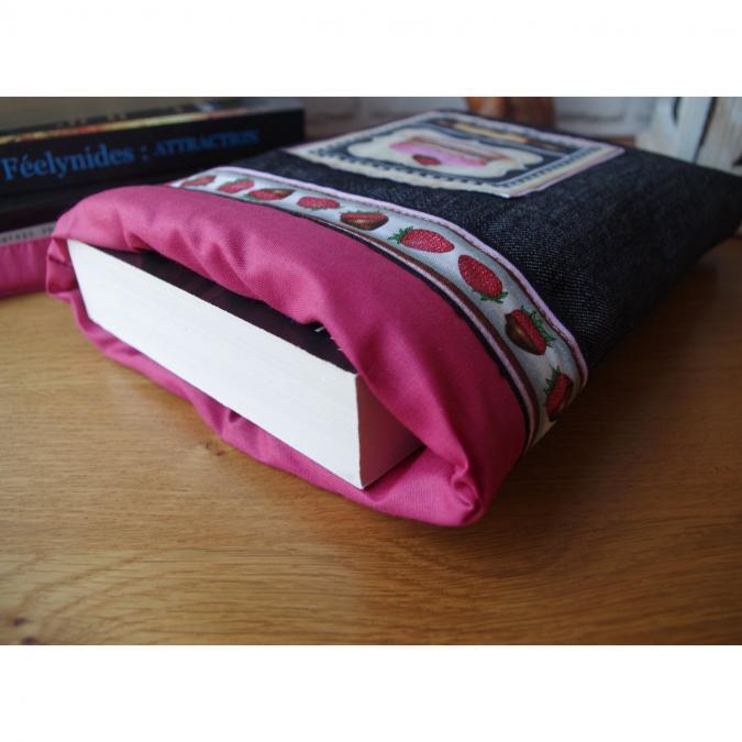 Loli Fox - Housse livre ou tablette - pochette livre - manchon livre - protège-livre