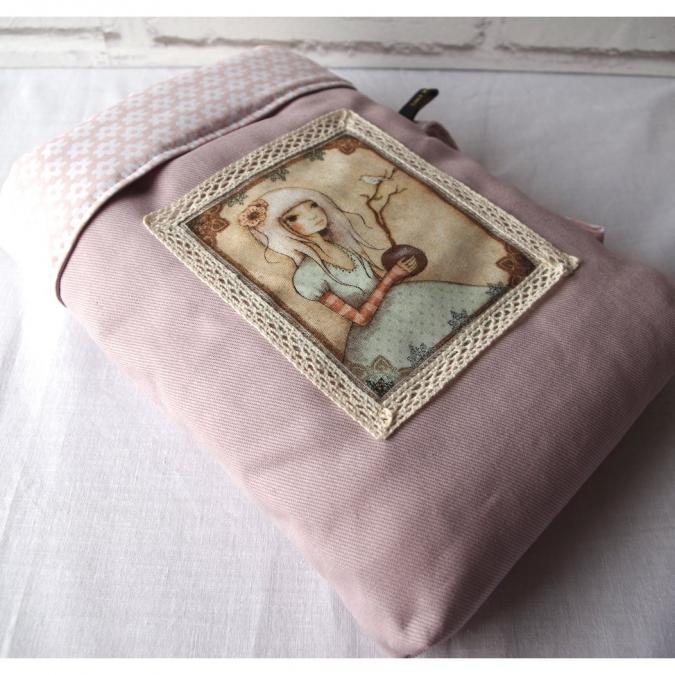 Loli Fox - Housse livre - poche livre - manchon livre ou tablette - Housse de tablette