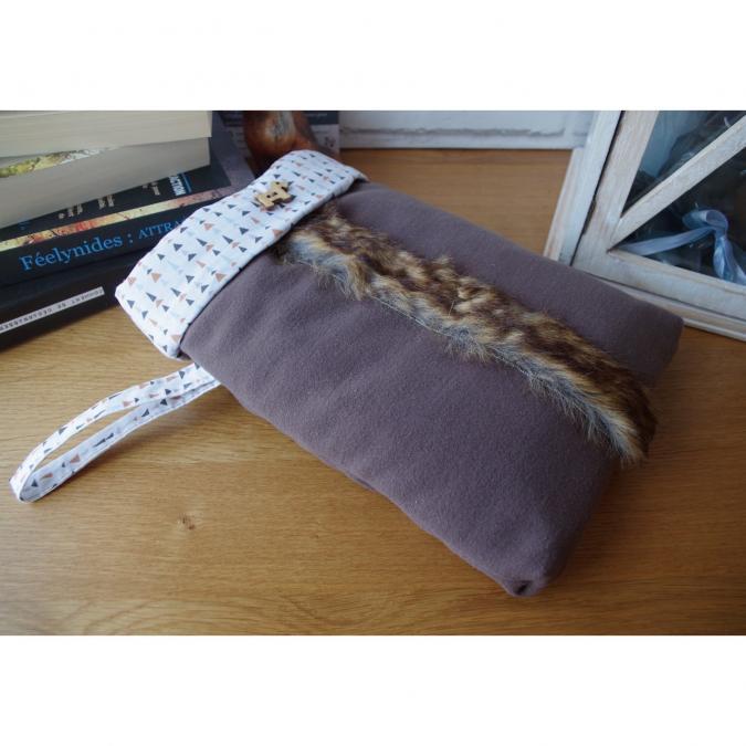 Loli Fox - Pochette livre ou tablette - housse livre - manche livre - Housse de tablette