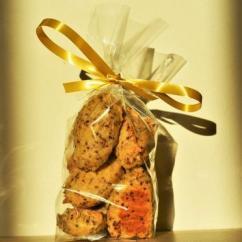 Loloco - Cookies Moutarde à l'ancienne - 500 gr - Apéritif et biscuits salés - 500 gr