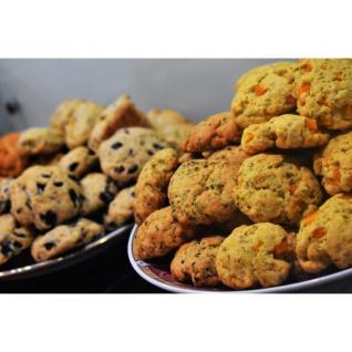 Loloco - Cookies Sésame, Emmental - 1 kg - Apéritif et biscuits salés - 1 kg