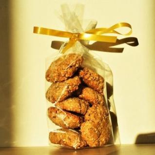 Loloco - Cookies Sésame, Emmental - 100 gr - Apéritif et biscuits salés - 100 gr