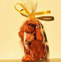 Loloco - Cookies Tomates séchées, Parmesan, Chorizo - 100 gr - Apéritif et biscuits salés - 100 gr