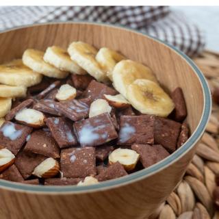 Loumaë - Céréales Cacao - Noisettes grillées - Biscuit