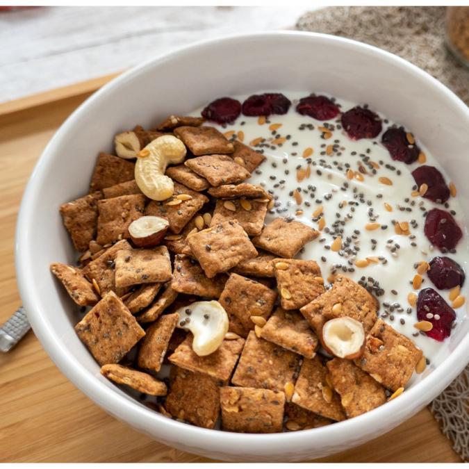 Loumaë - Céréales Mix Energy (Graines et Fruits Secs) - Biscuit