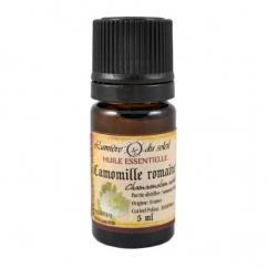 Lumière du Soleil - Huile essentiel camomille romaine - 5 ml - Huile essentielle