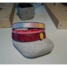 Luminelle-créa - Bracelet manchette - Bracelet - Tissu