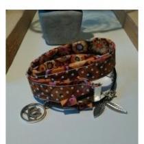 Luminelle-créa - Bracelet ou collier bohème - bracelet bohème