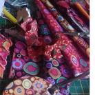 Luminelle-créa - Passionnée de créations, je crée des bijoux bohème, je mêle bois et tissu et bientôt la résine !