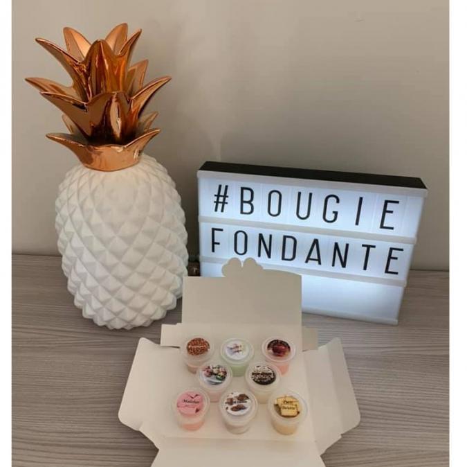 L'univers des bougies fondantes - Box fête foraine fondants parfumés - Bougie - 4668