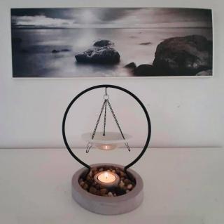 L'univers des bougies fondantes - Brûle parfum suspendu - Bougeoir - bougie(s)