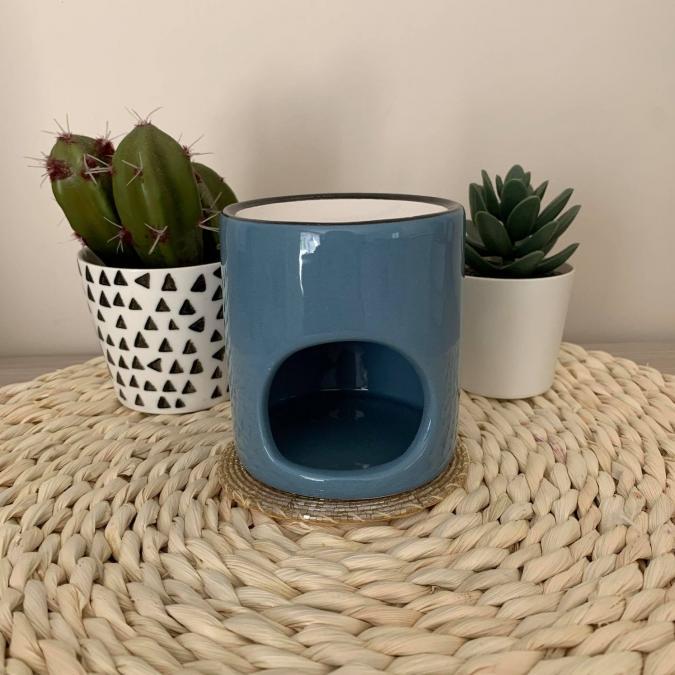 L'univers des bougies fondantes - Bruleur bleu - Bougeoir - bougie(s)