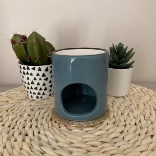 L'univers des bougies fondantes - Bruleur gris bleu - Bougeoir - bougie(s)