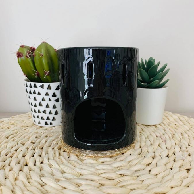 L'univers des bougies fondantes - Bruleur noir photophore - Bougeoir - bougie(s)