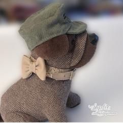Lydie Secret de femme - Collier Mixte cuir et simili déclinable - Collier pour chien