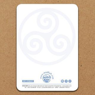 """MAD BZH - Carte Postale """"Dans la vie, on ne peut pas praire à tout le monde … sauf si on est breton"""" - carte postale"""