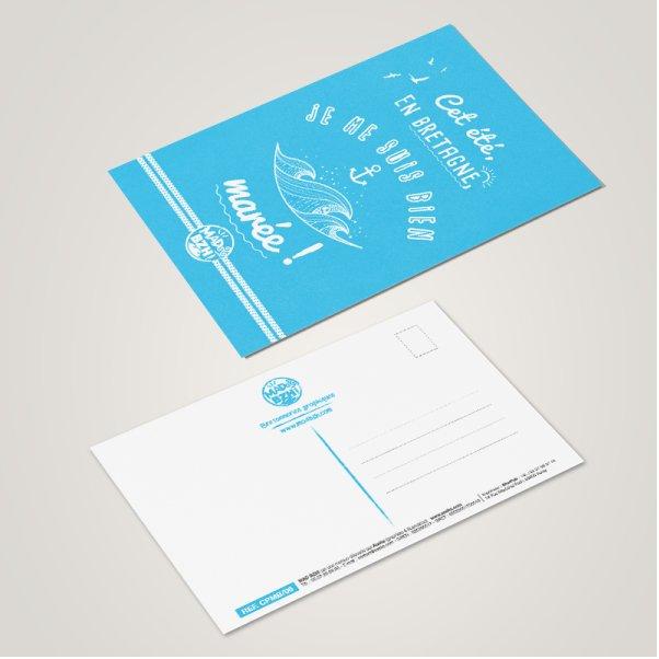 MAD BZH - Carte Postale Marée - carte postale