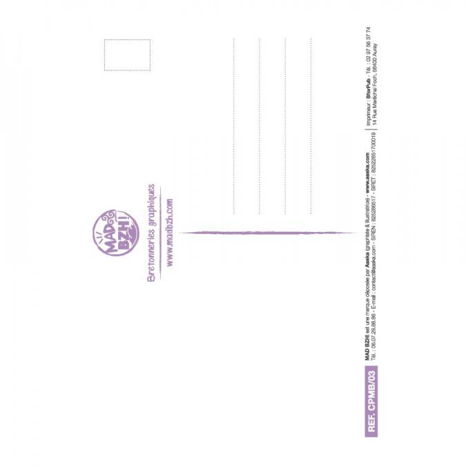 MAD BZH - Carte Postale Pince - carte postale