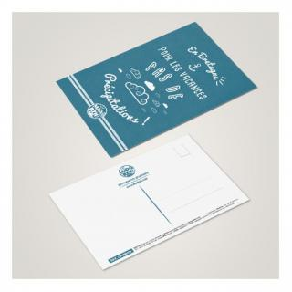 MAD BZH - Carte Postale Précipitations - carte postale