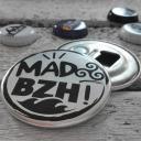 MAD BZH - Magnet décapsuleur argent - décapsuleur