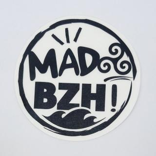 MAD BZH - Sticker / Noir - stickers